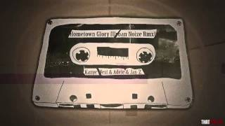 Adele & Kanye West & Jay-Z - Hometown Glory (Urban Noize Remix)