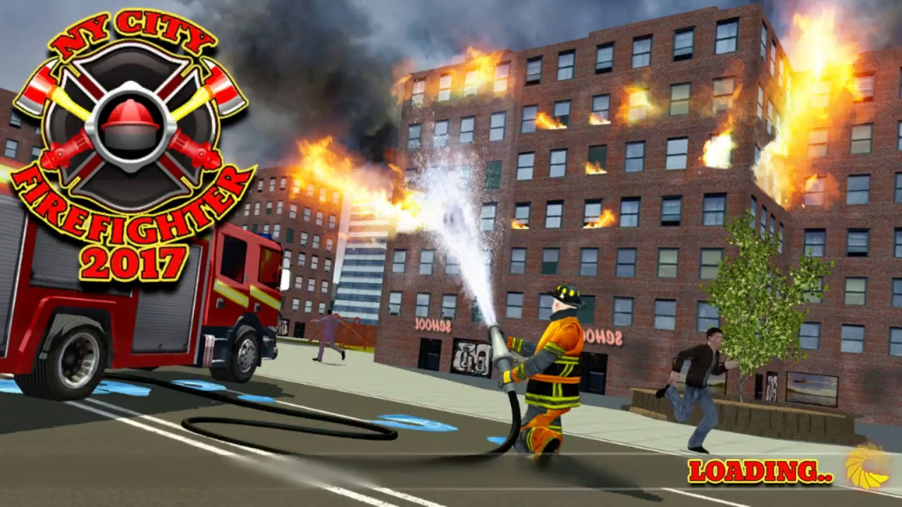 Ny City Firefighter 2017 Free Car Games To Play New Android
