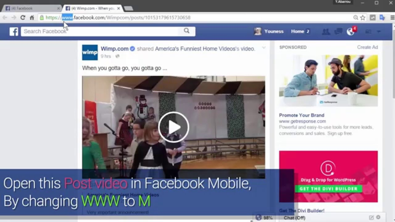 How to download facebook videos on mobile chrome