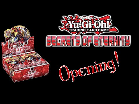 Best Secrets of Eternity Booster Box Opening Ever! |