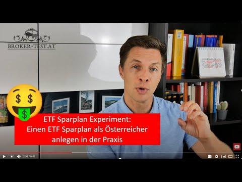 ETF Sparplan Experiment: Einen ETF Sparplan als Österreicher anlegen in der Praxis