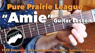 Pure Prairie League - Amie - Intro Solo- Major Lead Guitar Les…