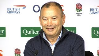 England v New Zealand - Eddie Jones & Owen Farrell Post Match Press Conference