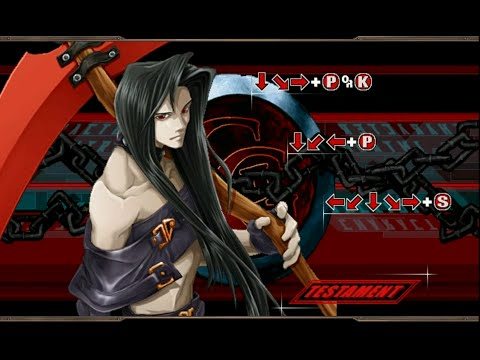 Let's Play Guilty Gear X2 #Reload - Testament |