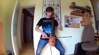 Djent on cello - ECG Icarus lives! cover