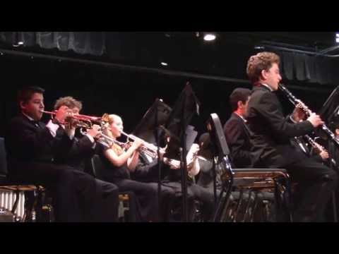 "New World School of the Arts Wind Ensemble ""Symphony No.3"" by Giannini"
