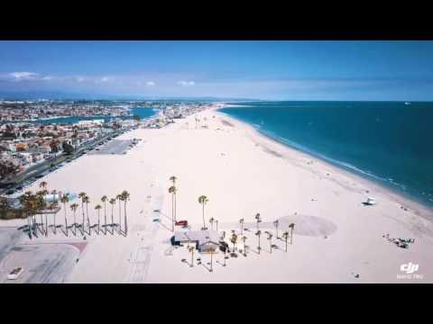 4km Flight Through The Long Beach Coast