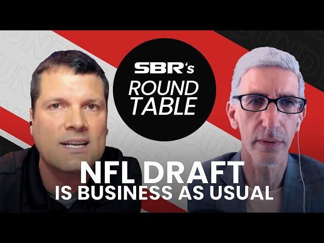 NFL Draft keeps going Baby! 1st Round is on fire🔥   SBR Roundtable.