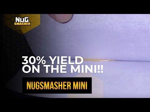 Nugsmasher Mini Rosin Press 30% Yield🔥
