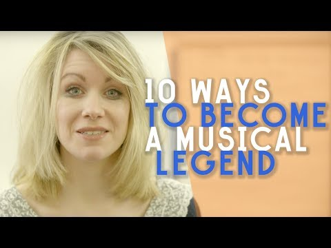 10 Ways To Become A Musical Legend | Rachel Parris's Life Lesson