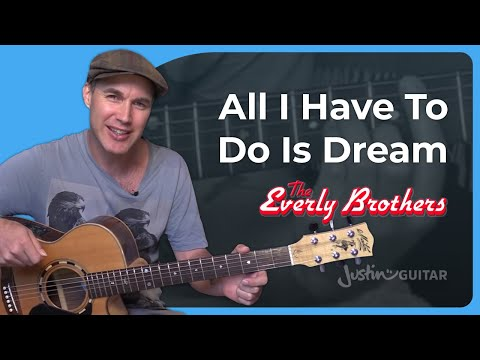 How to play All I Have To Do Is Dream by The Everly Brothers (Guitar Lesson SB-424)