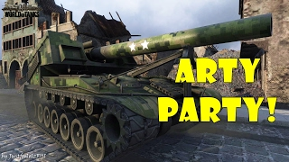 World of Tanks - Funny Moments | ARTY PARTY! #13
