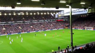 גול של בניון 2-2,ליברפול נגד מנצ'סטר סיטי 21.11.2009