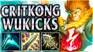 MONKEY KING CRUSHING KICKS & CRITS! Jade Dragon Wukong ADC - League of Legends Commentary