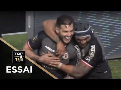 TOP 14 - Essai Sofian GUITOUNE 2 (ST) - Toulouse - Grenoble - J15 - Saison 2018/2019