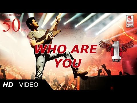 1 Nenokkadine Who are you  Song HD  Mahesh Babu, Kriti Sanon HD