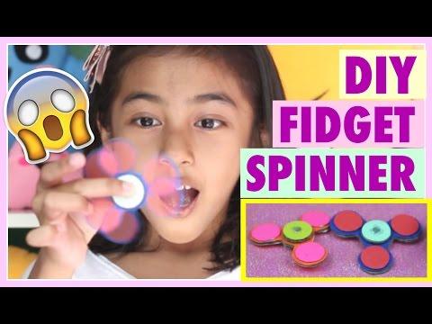 Cara Membuat Fidget Spinners | DIY Fidget Spinners (NO BEARINGS)!
