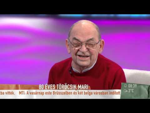Törőcsik Mari ma 80 éves, és köszöni, jól van - 2015.11.23. - tv2.hu/mokka en streaming