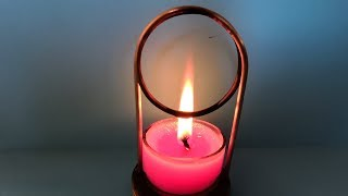 Candle using for Free Energy Generator