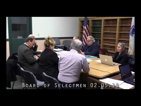 Board of Selectmen 02.05.18