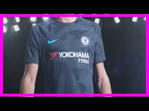 Nike release sleek third kits for chelsea, spurs and manchester city
