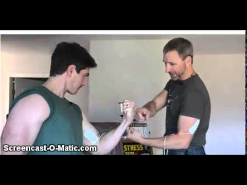 Electric Muscle Stimulation with Superman Brandon Routh ...