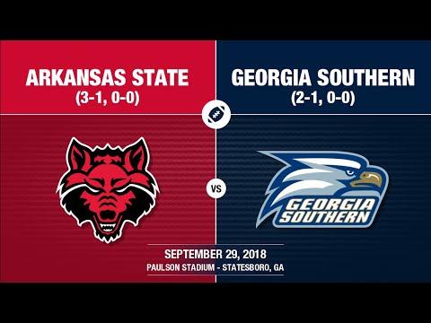 2018 Week 5 - Arkansas State at Georgia Southern