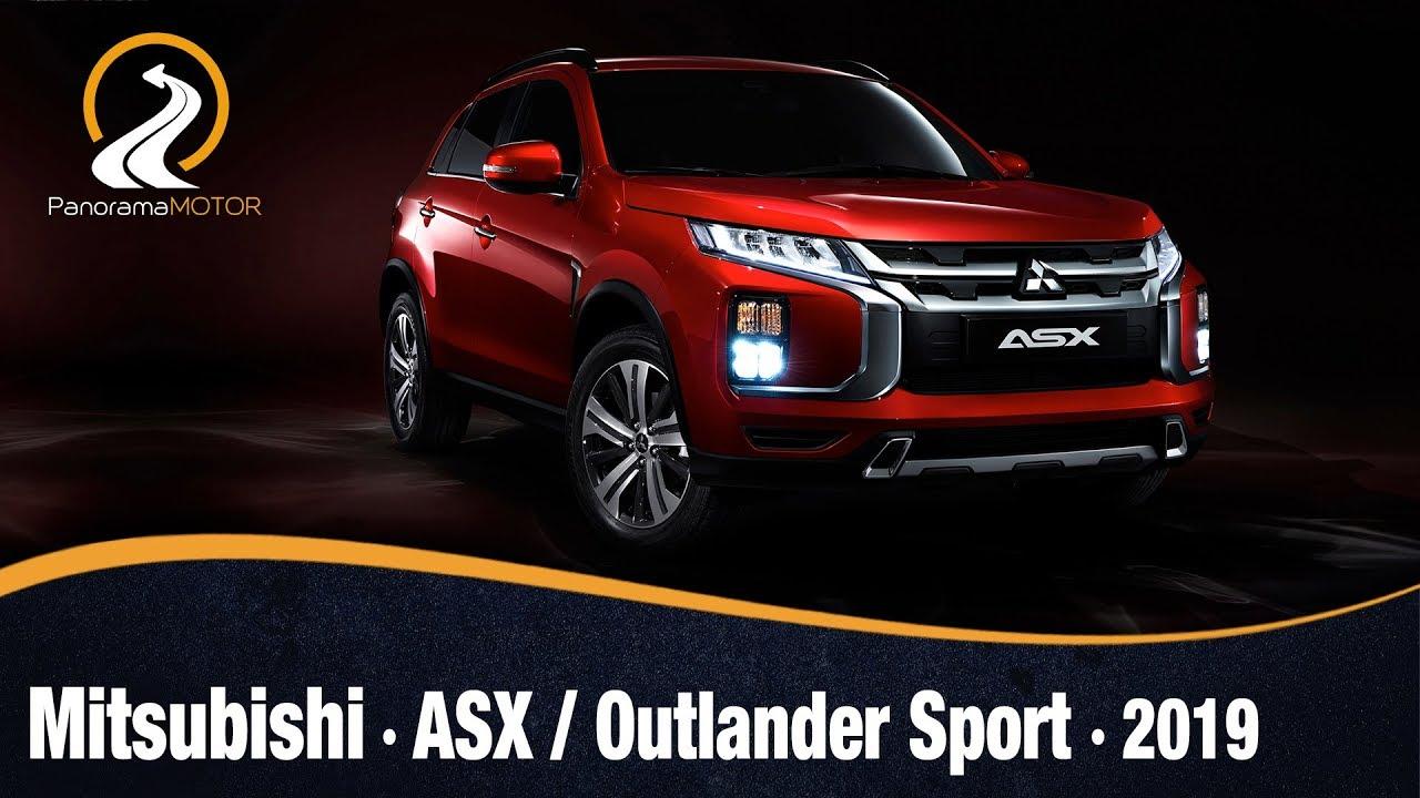 Mitsubishi ASX / Outlander Sport 2020   Información Primeras imágenes