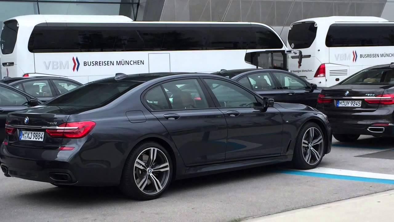 Bmw 750i 2015 >> 2016 BMW 750i G11 - YouTube