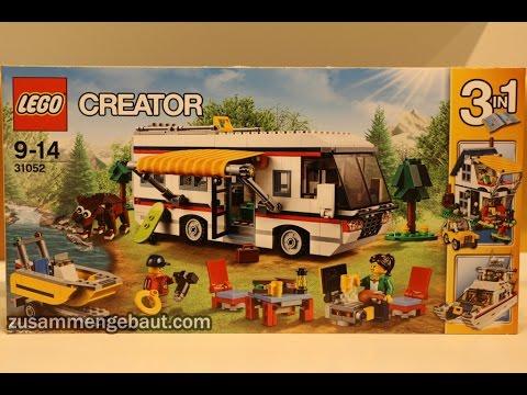 Lego Creator Summer 2016 Vacation Getaways Camper 31052 Youtube