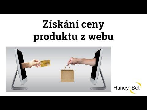 Získání ceny produktu z webu