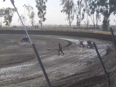 Lemoore Raceway KOFC Rd8 6-9-18 Jr Sprint Heat 1B Ty