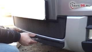 Сетка на решетку радиатора для Skoda Yeti (Шкода Йети) 2014 г.в. (Комплектация Outdoor)