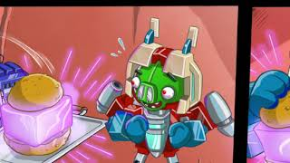 Angry Birds Transformers - ALL CUT SCENES Combo