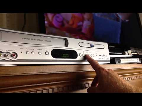 Broksonic Dual Combo Dvd Vhs Player