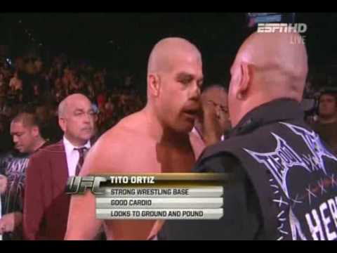 Tito Ortiz New Mosh Entrance
