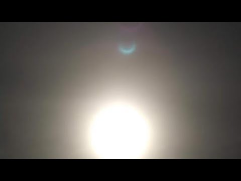 Winged Globe Nibiru Appears-Double Sunsets on Skycam-Planet X System Visible