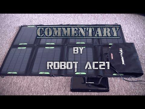 Solar Panels and my Windows: Ft. Robot AC 21