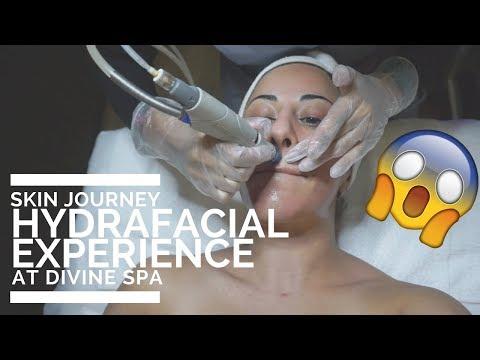 HYDRAFACIAL EXPERIENCE @ DIVINE SPA | SKIN JOURNEY | LASH BOSSES