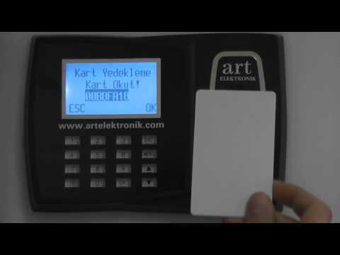ART 200 Parmak İzi ve Kart Okuyucu Terminal