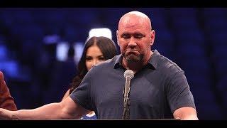 Dana White Confronts Brian Ortega
