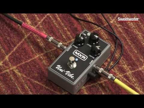 MXR M68 Uni-Vibe Chorus Vibrato Pedal Review - Sweetwater Sound