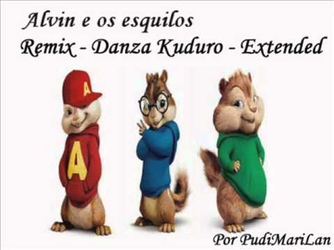 "Alvin e os esquilos - Danza Kuduro ""Extended Remix"""