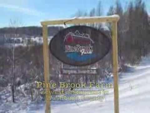 Pine Brook Farm, newest restaurant in Washburn County