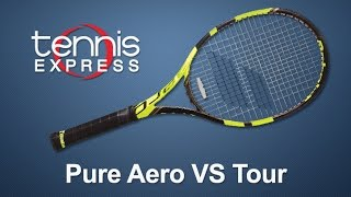 Babolat Pure Aero VS Tour Tennis Racquet Review | Tennis Express