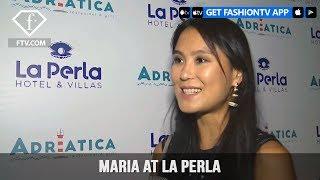 Maria at La Perla Opening part 2 | FashionTV