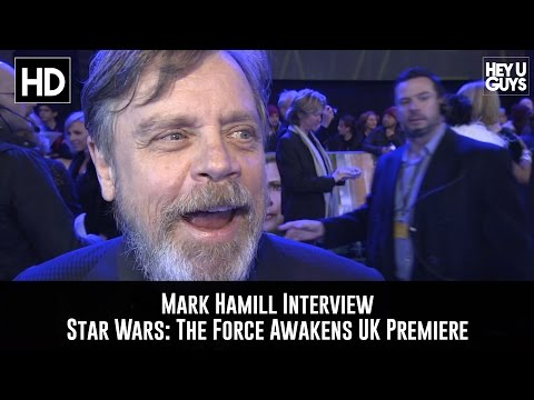 Mark Hamill Premiere Interview: Star Wars - The Force Awakens