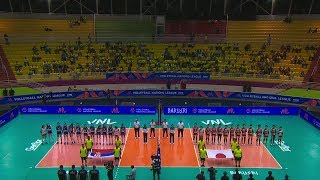 Women's VNL 2018: Japan v Serbia - Full Match (Week1, Match 8)