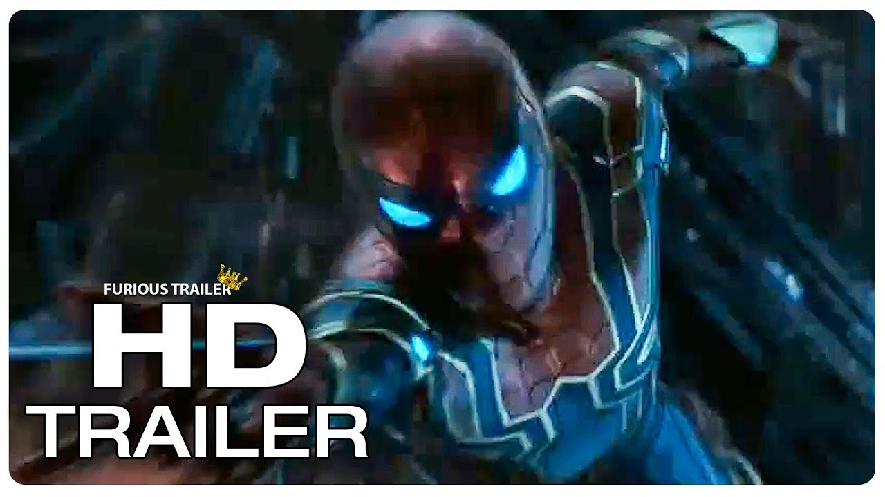 avengers infinity war iron spider suit trailer (2018) superhero