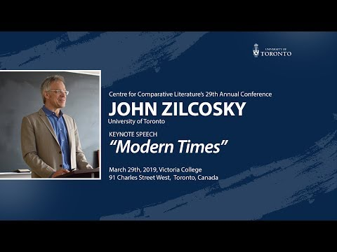 """john-zilcosky's-lecture:-""""modern-times"""""""